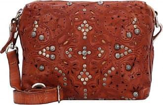Campomaggi borsa a tracolla pelle 24 cm cognac