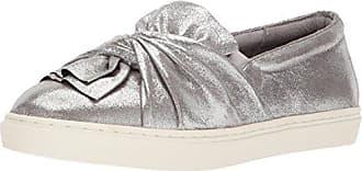 Yellow Box Womens Wendie Sneaker, Silver, 6 Medium US
