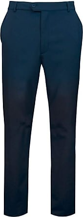 Glenmuir Mens MT7448 Technical Water Repellent Winter Golf Trousers Navy Regular 32
