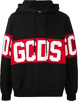 GCDS Felpa con coulisse - Di colore nero