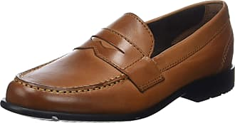 Rockport Mens Classic Loafer Penny, Brown (Cognac 001), 9.5 (44 EU)