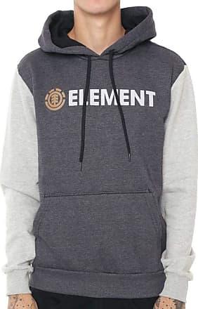 Element Moletom Element Duo Block Cinza