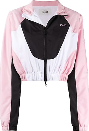 Kirin colour-block track jacket - PINK