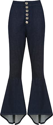 OLYMPIAH Lima flared trousers - Blue