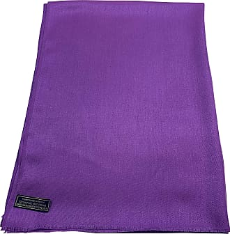CJ Apparel Mauve Fringe Shawl Seconds Solid Colour Design Scarf Wrap Stole Throw Pashmina NEW