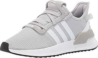 adidas Originals Womens U_Path Running Shoe, LGH Solid Grey/White/Black, 8.5 M US