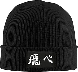 Not Applicable Clothing Unisex Stretchy Hedging Hat,Adult Slouchy Beanie Hat,Toboggan Watch Caps,Casual Headgear,Haikyuu! Men Women Knit Cap,Winter Warm Cap,Boy and Girl Skul