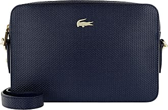 Lacoste Cross Body Bags - Square Crossover Bag Peacoat - blue - Cross Body Bags for ladies