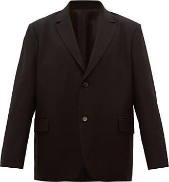 Raey Loose-fit Single-breasted Wool Blazer - Mens - Black