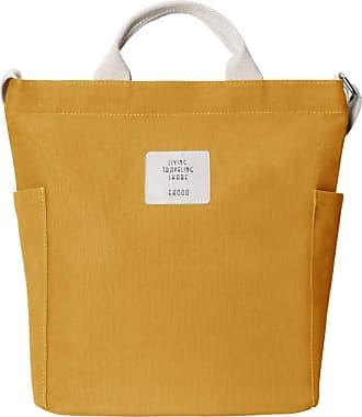 Yidarton Women Canvas Tote Bag Shopping Handbag Shoulder Cross Body Bag Ladies Casual Chic Bags(ye)