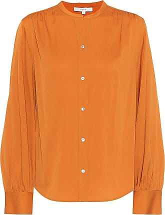 Vince Stretch silk-satin blouse