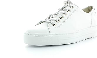 Paul Green Women Trainers 4938, Ladies Low-Tops, Low Shoe,Street Shoe,Lacer,Sport Shoe,Platform Sole,Leisure,White,40 EU / 6.5 UK