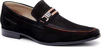 Generico Sapato social masculino super confort, em legitimo couro bovino solado de borracha, forrado com napa de couro, palmilha espumada modelo 1210MF (42, no