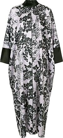 Layeur Vestido de seda floral - Rosa