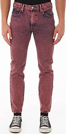 21 Men Levis 512 Acid Wash Jeans at Forever 21 Pink