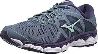30d4ce99ede4 Mizuno Womens Wave Sky 2 Running Shoe, Blue Mirage/Purple Plumeria, 6.5 B