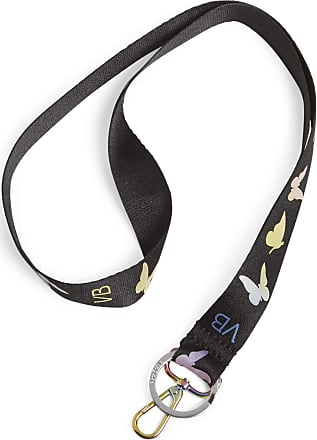 Vera Bradley Womens Wide Lanyard Keyring, Itsy Ditsy Creatures, One Size