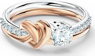 Acotis Limited Swarovski Timeless Cubic Zirconia White Lifelong Heart Ring 5535406 S