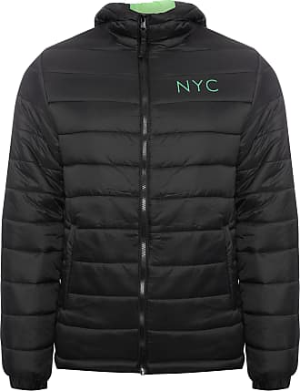 New Era JAQUETA MASCULINA PUFFER NYC FLUOR PACKABLE - PRETO