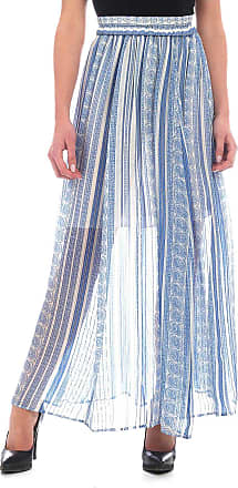 Philosophy di Lorenzo Serafini Light blue and white Philosophy skirt