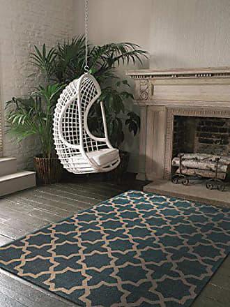 Benuta Teppich Arabesque Blau 120x170 Cm   Moderner Teppich Für Wohn  Und  Schlafzimmer