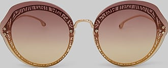 Etro Round Sunglasses With Paisley Decoration, Woman, Pink