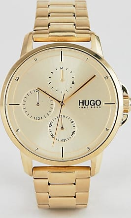 HUGO BOSS 1530026 Focus bracelet strap watch in gold