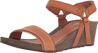 Teva Womens W Ysidro Stitch Wedge Sandal, Cognac, 5 UK
