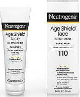 Neutrogena Age Shield Face Sunblock Lotion SPF 110 with Helioplex