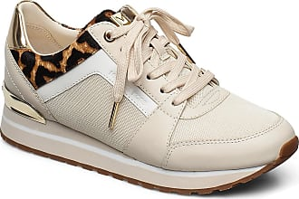 Michael Kors Billie Trainer Låga Sneakers Beige Michael Kors Shoes