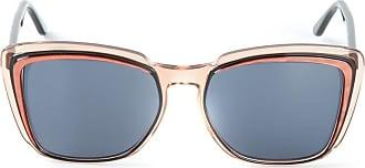 Saint Laurent Occhiali da sole Cat-Eye - Color marrone