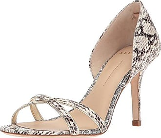 Aerin Womens Cocobay, Roccia/Pale Gold Spotted Snake, 6.5 B - Medium