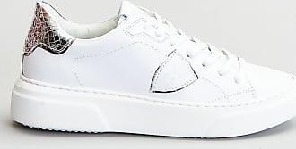 Reposi Calzature PHILIPPE MODEL Sneakers bianco argento
