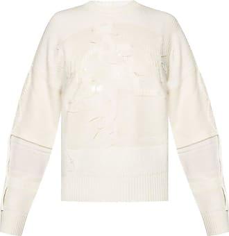 Iceberg Raw Hem Sweater Womens Cream