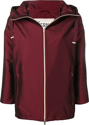 Herno short rain coat - Red