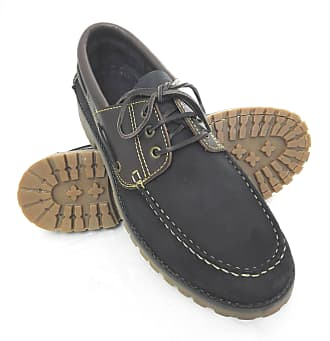 Zerimar Leather Boots | Nautical Mens Summer | Nautical Shoes Man | Moccasins Man | Large Sizes 46-50 Dark Blue