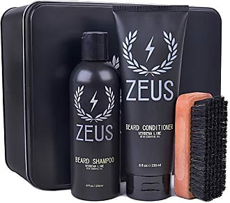 Zeus Basic Beard and Mustache Grooming Kit, Verbena Lime