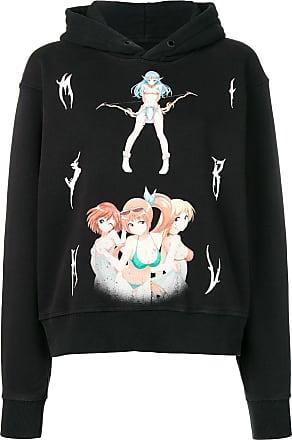 Misbhv graphic print hoodie - Black