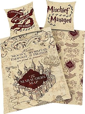 Harry Potter Marauders Map - Unisex-Sängkläder - flerfärgad