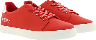 Lauren Ralph Lauren Sneakers - Joana Vulc Sneakers Sporting Red/White - red - Sneakers for ladies