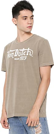 Von Dutch Camiseta Von Dutch Since 1929 Bege