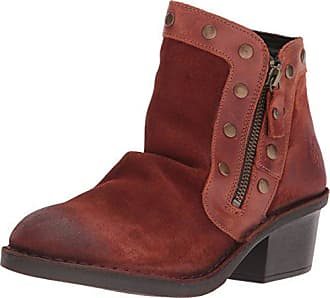 FLY London Womens DUKE941FLY Ankle Boot, Brick Oil Suede/Rug, 40 M EU (9-9.5 US)