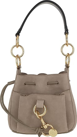See By Chloé Bucket Bags - Tony Small Shoulder Bag Motty Grey - grey - Bucket Bags for ladies