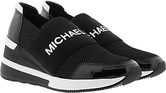 Michael Kors Sneakers - Felix Sneakers Black Optic White - black - Sneakers for ladies