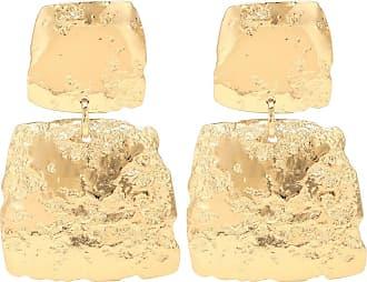 Max Mara Linz square drop earrings