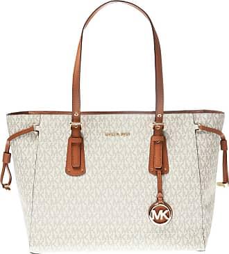 Michael Kors Voyager Shoulder Bag Womens Cream