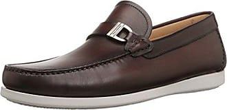 Magnanni Mens Seca Slip-On Loafer, Mid Brown, 13 M US
