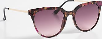 Maurices Womens Colored Tortoise Wayfarer Sunglasses Brown