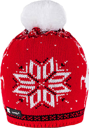 morefaz MFAZ Morefaz Ltd Beanie Hat Woolly Knitted Cookies Eskimo Style Wool with Pom Pom Mens Womens Winter Warm SKI Snowboard Hats (Nordic 49)