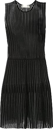 Dion Lee godet pleat mini dress - Black